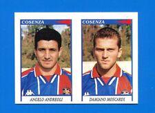 CALCIATORI PANINI 1998-99 Figurina-Sticker n. 480 -ANDREOLI-MOSCARDI COSENZA-New