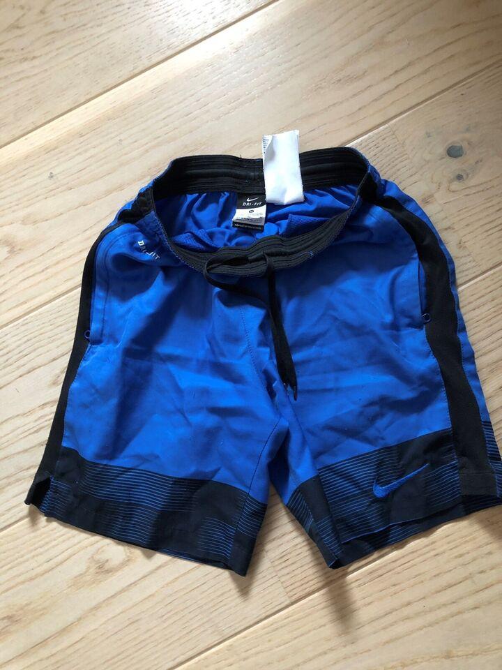 Shorts, m/lynlås ved lommer, Nike Dri fit