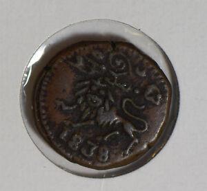 India-Princely-States-1838-mysore-20-Cash-I0427-combine-shipping