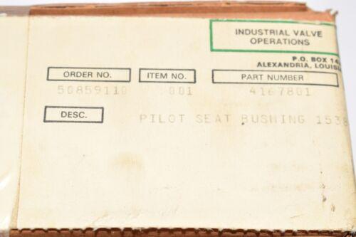 buje de asiento de piloto para 1538VC parte Nuevo cómoda 4167801