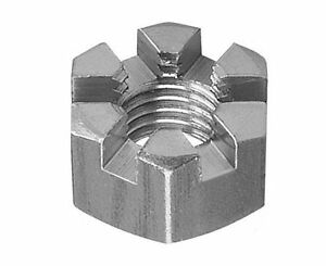 Slotted Castle Nuts High Tensile Steel Zinc Plated DIN 935