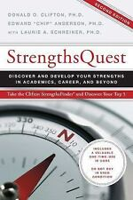 "StrengthsQuest by Edward ""Chip"" Anderson and Donald O. Clifton..."