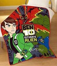 Ben 10 Ultimate Alien Force HUMUNGOUSAUR Fleece Blanket Bed Throw BIG CHILL
