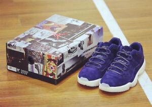 6c4cfa24526 Nike Air Jordan 11 XI Retro Low Derek Jeter RE2PECT Binary Blue  New ...