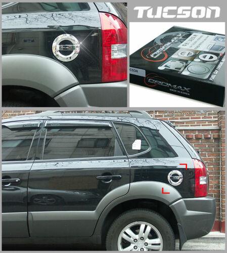 Chrome Fuel tank Cover Molding For  Hyundai Tucson 2006~2009 ////////