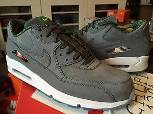 best sneakers 97f8f d659b Image is loading Nike-Air-Max-90-PRM-QS-Chicago-Exclusive-