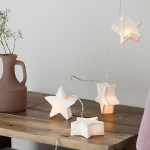 Image Is Loading 10 Star Paper Lantern Battery Operated Led Bedroom