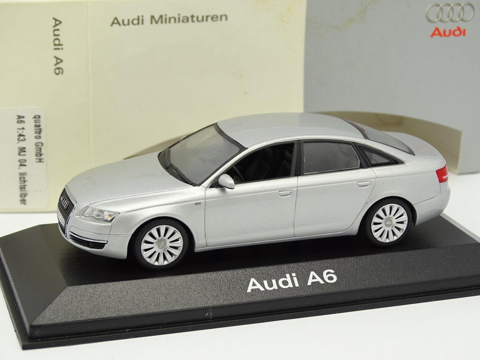 la mejor selección de Minichamps 1 1 1 43 - Audi A6 plata  servicio considerado