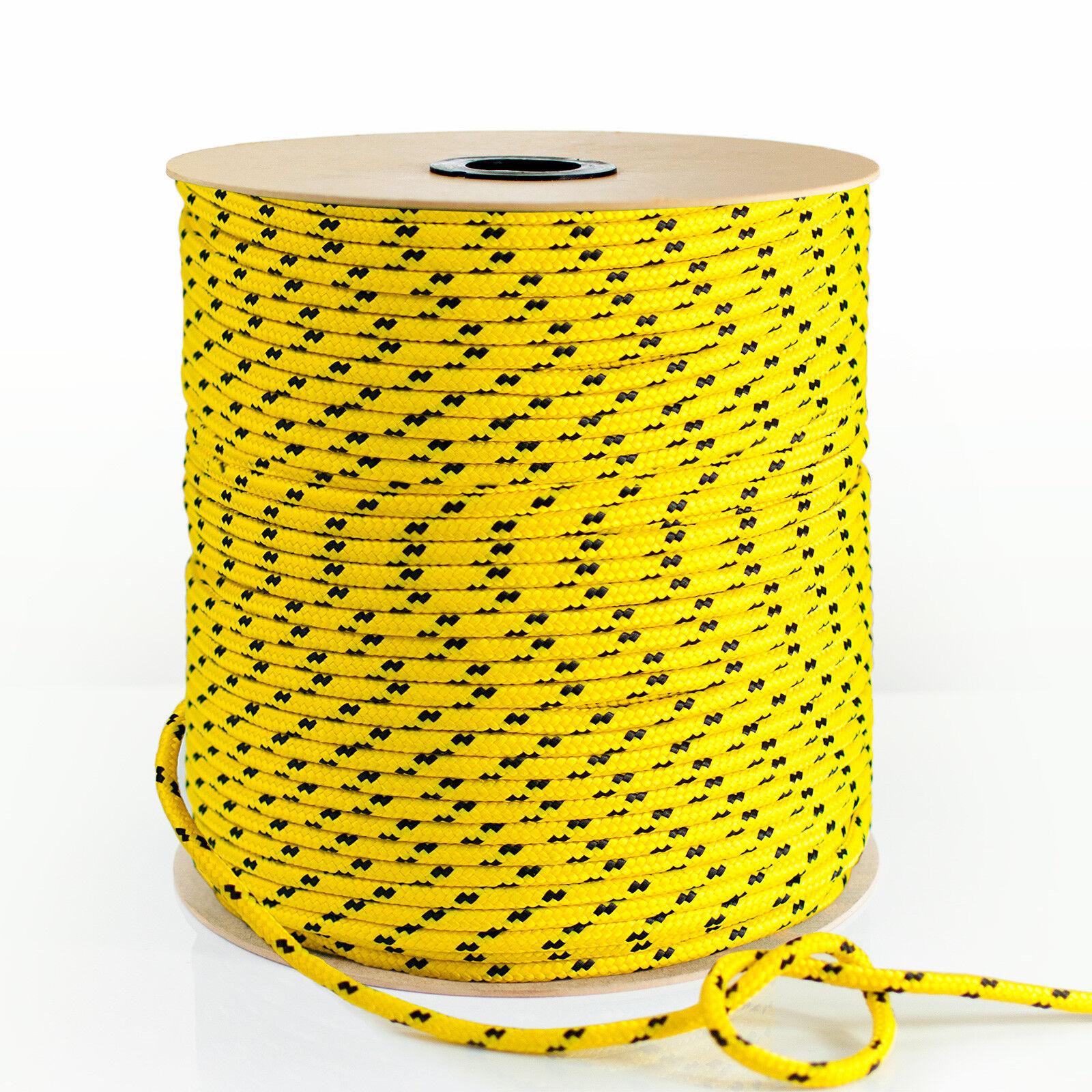 Polypropylenseil Gelb PP Polypropylen Seil Festmacher Flechtleine Tauwerk Seile