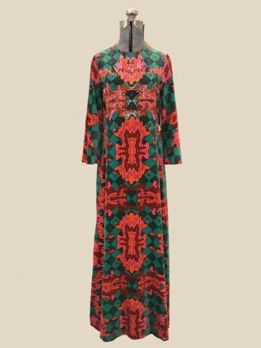 VTG 60s Exquisite Valditevere Firenze Dress Design