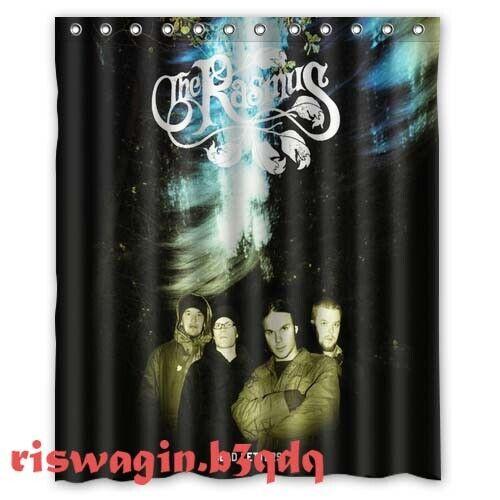 The Rasmus Dead Letters Custom Fabric Shower Curtain 60x72 Inch