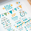 Personalised-Birth-Print-for-Baby-Boy-Girl-New-Baby-Gift-or-Christening-Present thumbnail 99