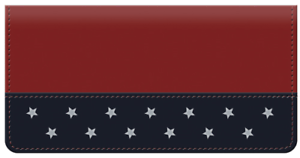 Spirit of America Leather Cover for Duplicate Checks