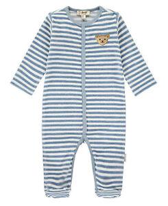 STEIFF® Baby Jungen Nicky-Strampler Schlafanzug GOTS 56-74 H//W 2020-21 NEU!