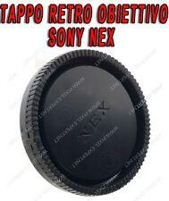 TAPPO RETRO OBIETTIVO SONY NEX 18-55MM A7 A7R NEX-7 NEX-6 NEX-5 NEX-3 POSTERIORE