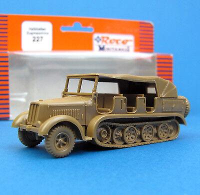 Roco Minitanks H0 227 HALBKETTEN ZUGMASCHINE Kraus-Maffei EDW Wehrmacht HO 1:87