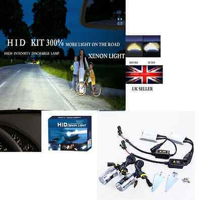 HID KIT  HIGH QUALITY H4 H/&L 8000K 55W 300/% MORE LIGHT IN THE ROAD UK SELLER