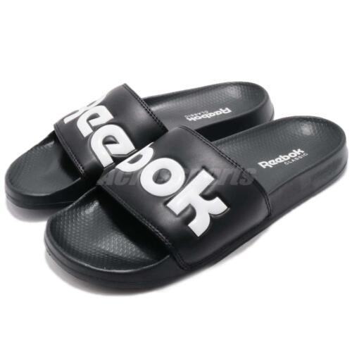 Reebok Classic Slide Noir Blanc Hommes Femmes Sports Sandale Pantoufles CN0735