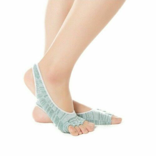 Details about  /Women Yoga Socks Ballet Dance Pilates Sport Socks Toeless Anti-slip Gym Socks