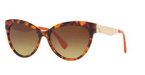 Versace VE4338 Sonnenbrille Havanna / Orange 524413 57mm 14veEYZ0w