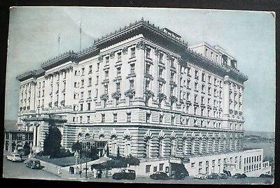 Fairmont Hotel Grand Staircase Nob Hill San Francisco California CA ~ 1960s