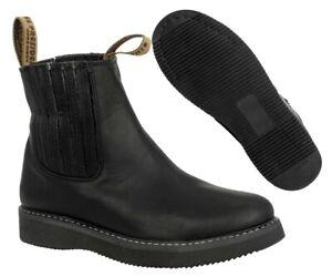 e4a8529300e Details about Mens Strong Durable Work Construction Boots Shoes Anti Slip  Black Size 10