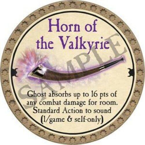 Horn of the Valkyrie 2019  Ultra Rare True Dungeon Token
