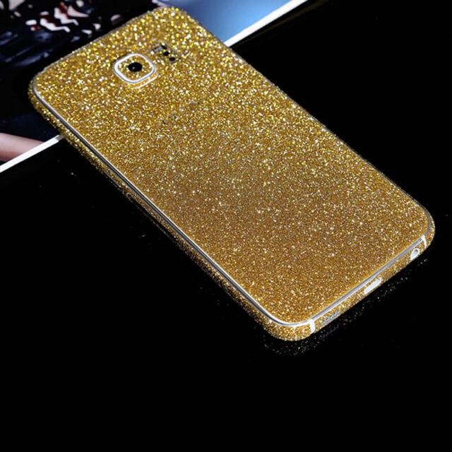 Adesivo Sticker Glitter Bling Diamanti Full Cover Samsung GalaxyS4 S5 S6 S7 Edge