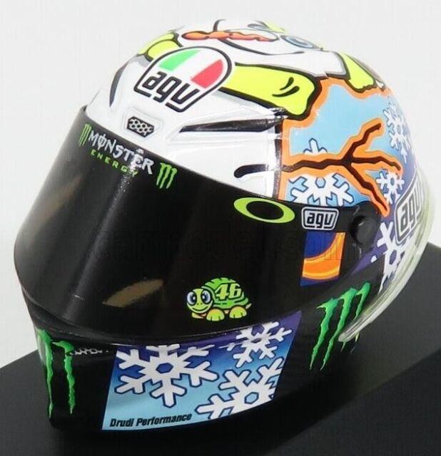 1:8 AGV Minichamps Valentino Rossi Helmet Casco MotoGP Mugello 2014 NEW