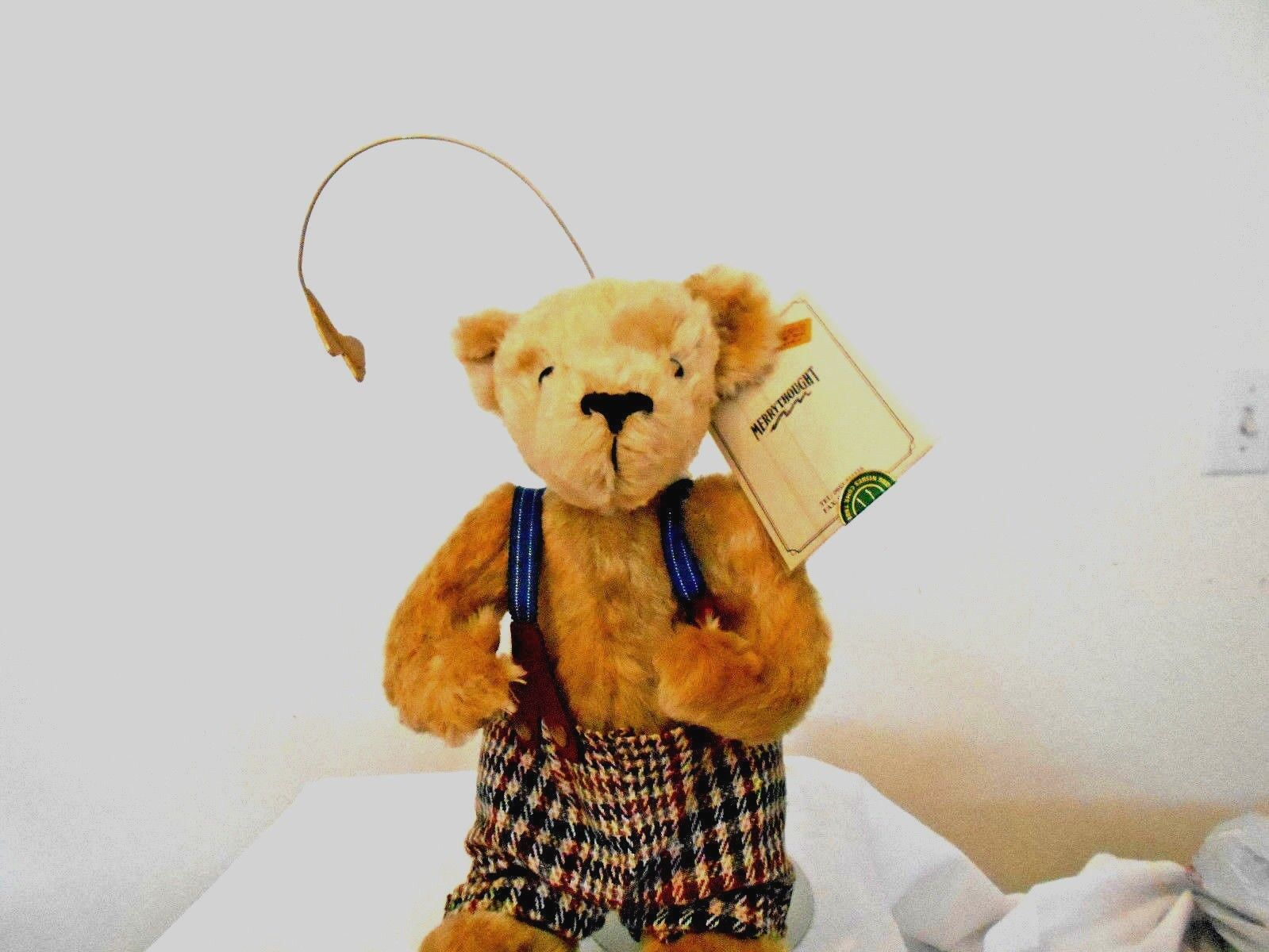 SALE RAREMERRYTHOUGHT BEAR MADE IN ENGLAND/MUSICAL/VERY RARE LE  26/100 ONLY