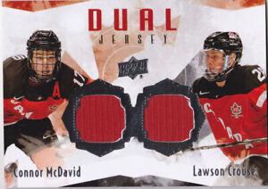 15-16-Team-Canada-Juniors-Connor-McDavid-Lawson-Crouse-Dual-Jersey-2015