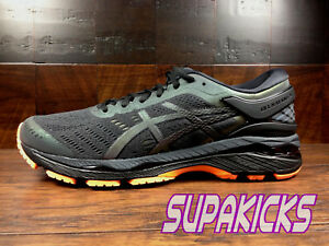 Asics Gel Kayano 24 LITE SHOW (T7A3N-1690)  Phantom Black Orange ... e357969aae