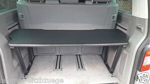 vw t5 t6 multivan multiflexboard bettverl ngerung ablage. Black Bedroom Furniture Sets. Home Design Ideas