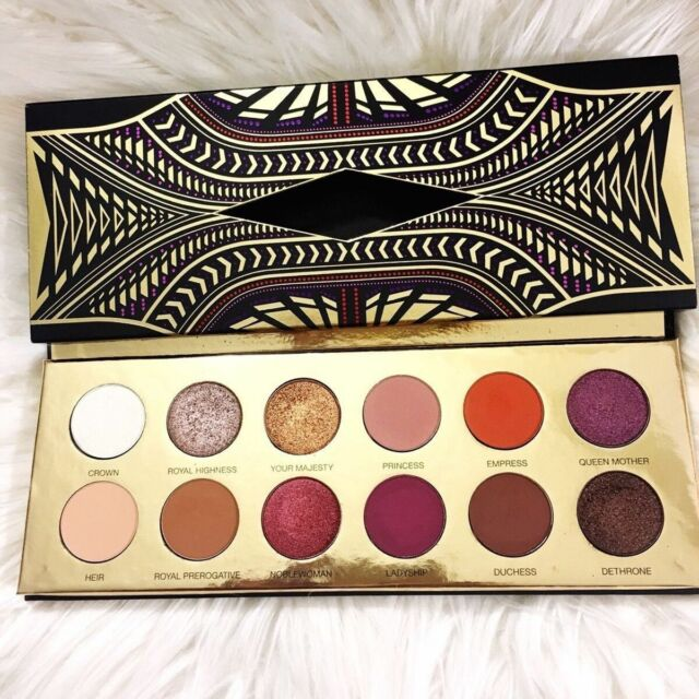 Queen of Hearts Eyeshadow Palette 12 Colors Collection Cosmetic Eye Shadow Kit