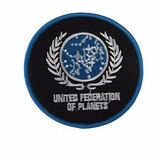Star Trek United Federation of Planets Symbol and Name Embroidered Patch