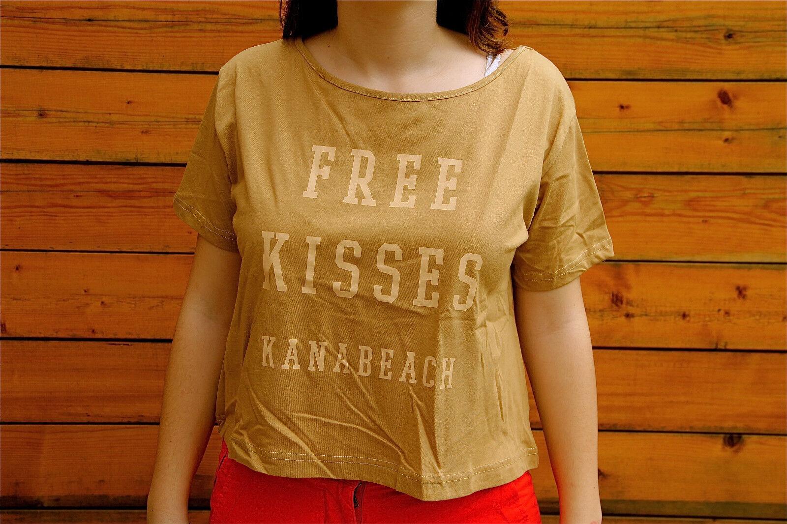 Camiseta Camel Kanabeach Biologik Angel T 38 Nuevo con Etiqueta Valor