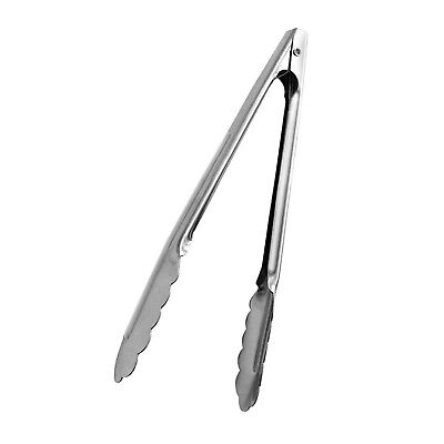 12 Inch Stainless Steel Utility Tong Heavy Duty Kitchen Tongs By Tezzorio Ebay