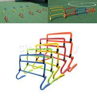 5pcs Adjustable Assemble Speed Agile Hurdle Football Multi Color Training Frame