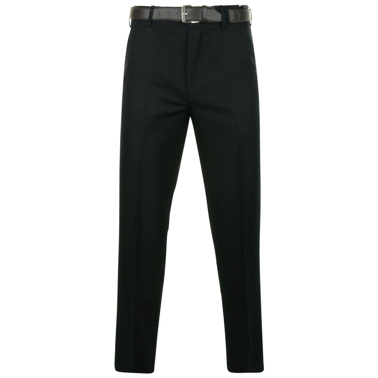Kam Herren Flexi Größe Formelle Hose (259) Schwarz Größe 40-60 L27-33
