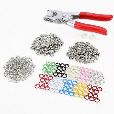 100X 10 Colors 9.5Mm Poppers Snap Fastener Stud Attaching Pliers Press Stud Tool