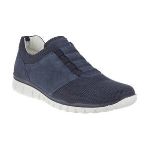 Sneakers casual blu con allacciatura elasticizzata per donna OlBp38