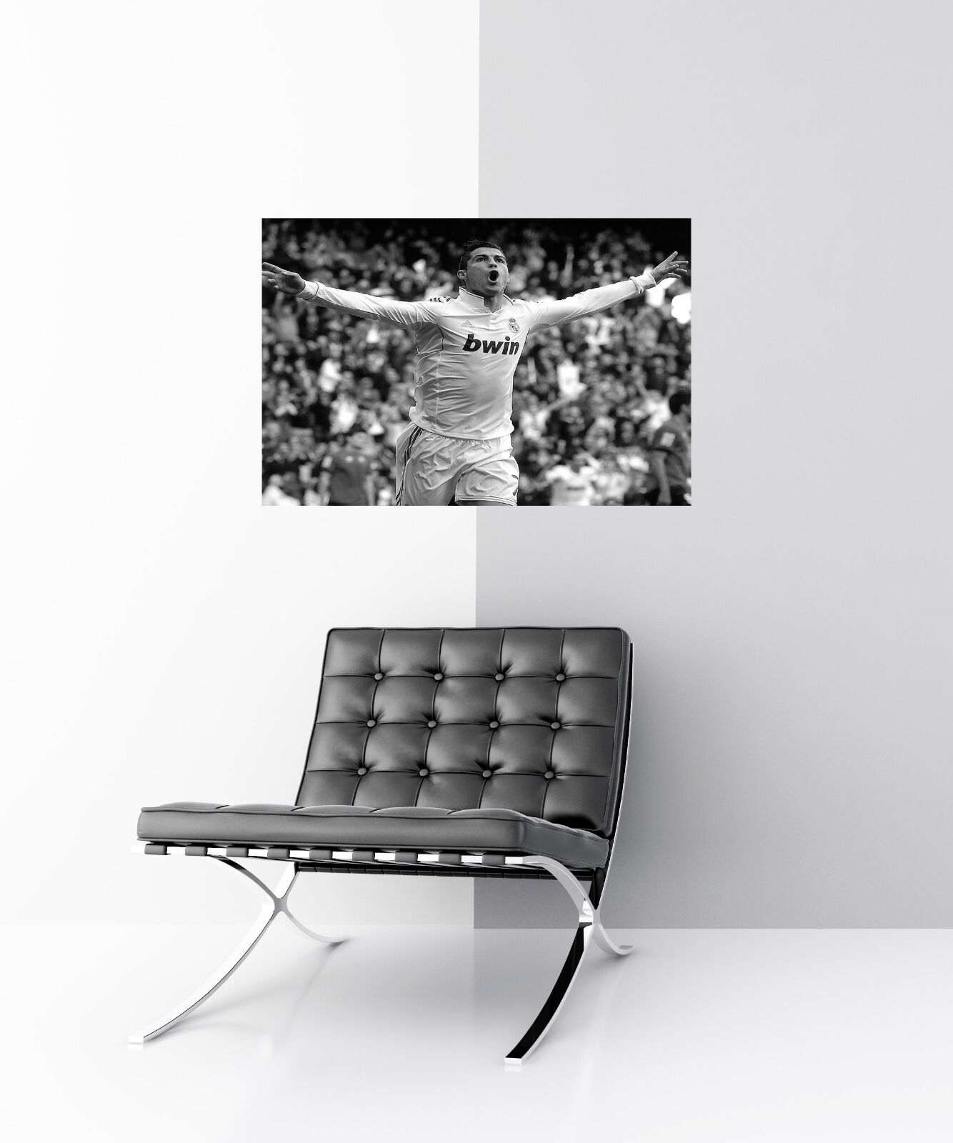 GREAT GIFTS RONALDO CANVAS #2 REAL MADRID FOOTBALL A1 A3 CANVAS PICTURES