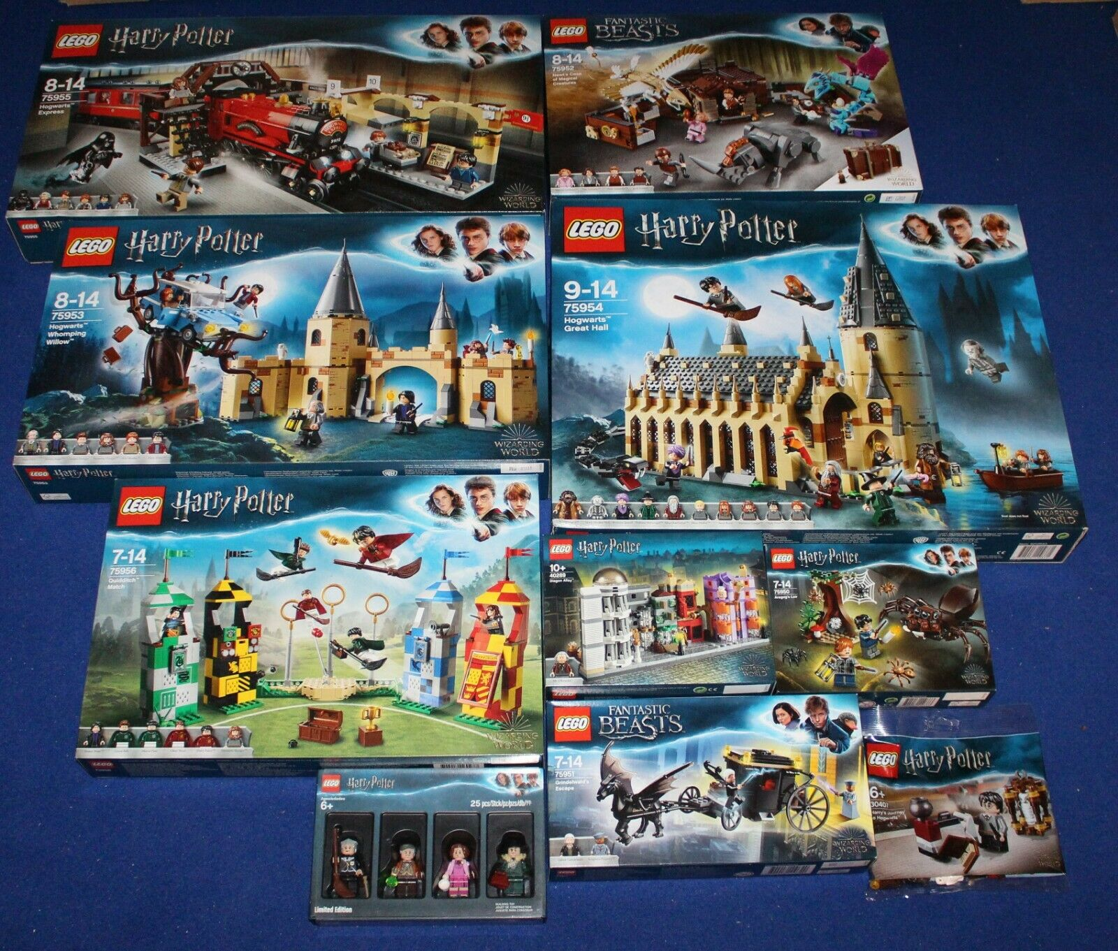 LEGO Wizarding World   Harry Potter Sets NEU