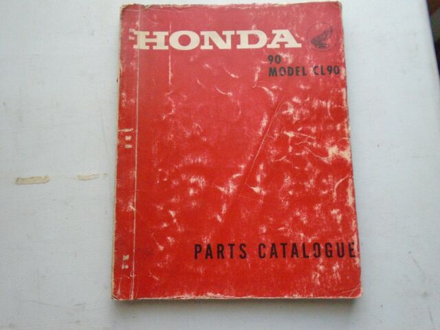 Honda 90 Cl90 Parts Manual