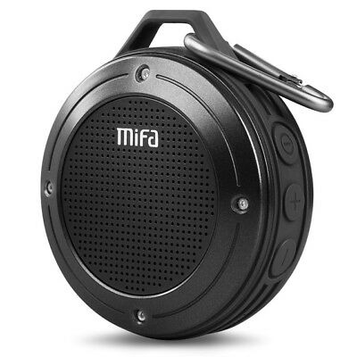 MIFA Portable Bluetooth Speaker Shock Resistance IPX6 Waterproof with Bass TF