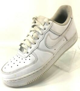 Details about Nike Air Force 1 07 Women's Size 7 Shoes 315115-112 All  Triple White Sneaker AF1