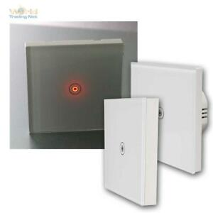 Touch-Switch-034-Flair-034-Wireless-Switch-Toggle-Switch-RC-Light-Switch-with-LED