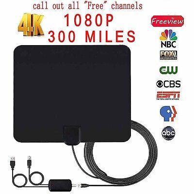 Digital Amplified HD//DTV//UHF//VHF//FM Indoor Antenna HD TV