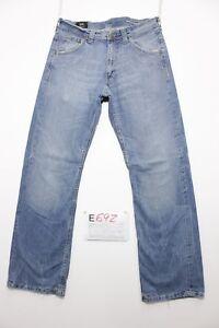Lee-Dillon-Custom-Bota-cut-vaqueros-usados-Cod-E692-Sz-45-W31-L34-boyfriend