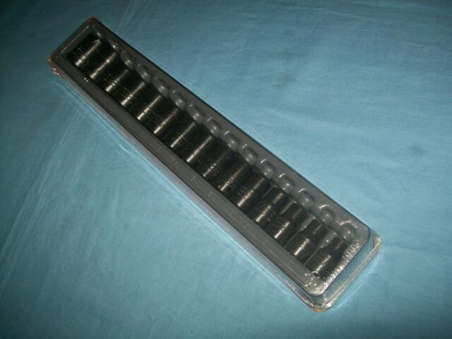 *NEW* Snap On 15-pc 1//2 6-Point Flank Drive® Shallow Impact Socket Set 315IMMYA